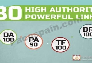 Get 80 HIGH AUTHORITY Powerful Links