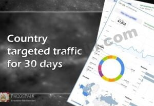 Country Targeted Traffic For 30 Days Long!
