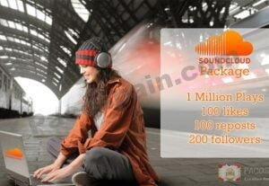 SoundCloud Promotion Package 1 Pacospain
