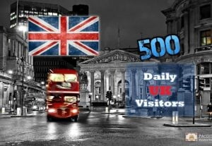 UK Targeted Visitors (500) For 30 Days – LOW BOUNCE RATE