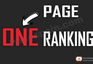 Rank Page 1 (ONE) SEO Package