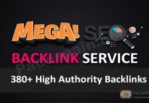Ranking Up Your Site, High Authority SEO 380+ backlinks