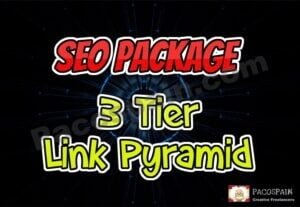 Pyramid SEO Packages 3 Tier Package – STEAL DEAL